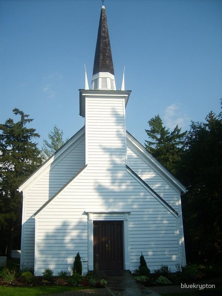 Mohawk Chapel by bluekrypton
