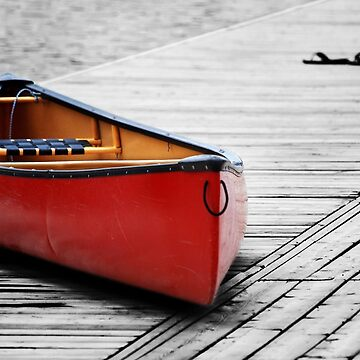 The Red Canoe  by LaurieMinor