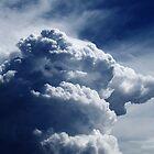 Cumulonimbus On Blue Sky by David Lamb