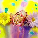 Magic of the Flowers  by nino Gabashvili