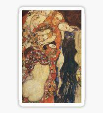 Gustav Klimt - The Bride (Unfinished), Detal 2 Sticker