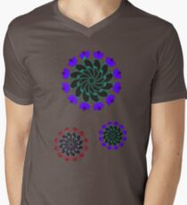 Flower Mandalas (Black background) T-Shirt
