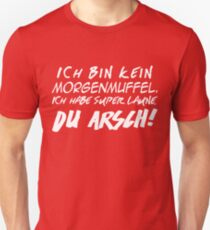 Morgenmuffel Unisex T-Shirt