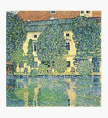 Gustav Klimt - The Schloss Kammer On The Attersee Iii Photographic Print