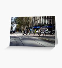 Melbourne, CBD 01 Greeting Card