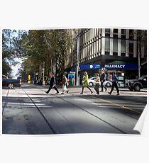 Melbourne, CBD 01 Poster