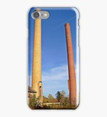 Two Towers Standing  iPhone Case/Skin