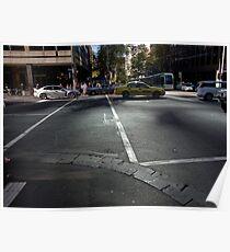 Melbourne, CBD 02 Poster