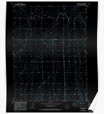 USGS TOPO Map Colorado CO Sunnydale 234660 1949 24000 Inverted Poster