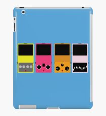 pedal set 2 iPad Case/Skin