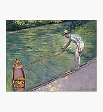 Gustave Caillebotte - A Man Docking His Skiff Photographic Print