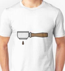 Barista Portafiter Coffee Design Unisex T-Shirt