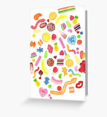 Mixed Lollies Greeting Card