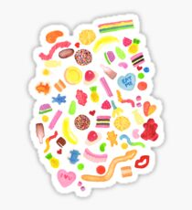 Mixed Lollies Sticker
