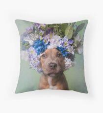 Flower Power, Kyla Throw Pillow