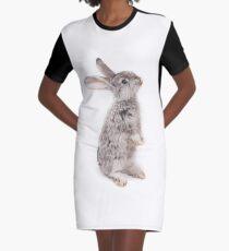 Rabbit 12 T-Shirt Kleid