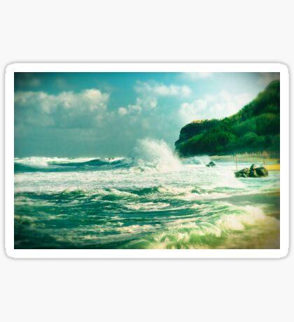 Stormy sea Sticker