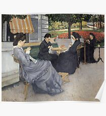 Gustave Caillebotte - Portraits In The Countryside Poster