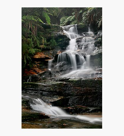 The Journey - Leura Cascades, Blue Mountains, NSW Photographic Print