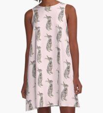 Rabbit 12 A-Linien Kleid