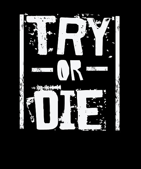 try or die fitness gym workout motivational posters by