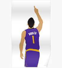 Devin Booker 70 Points Finger To The Sky Poster