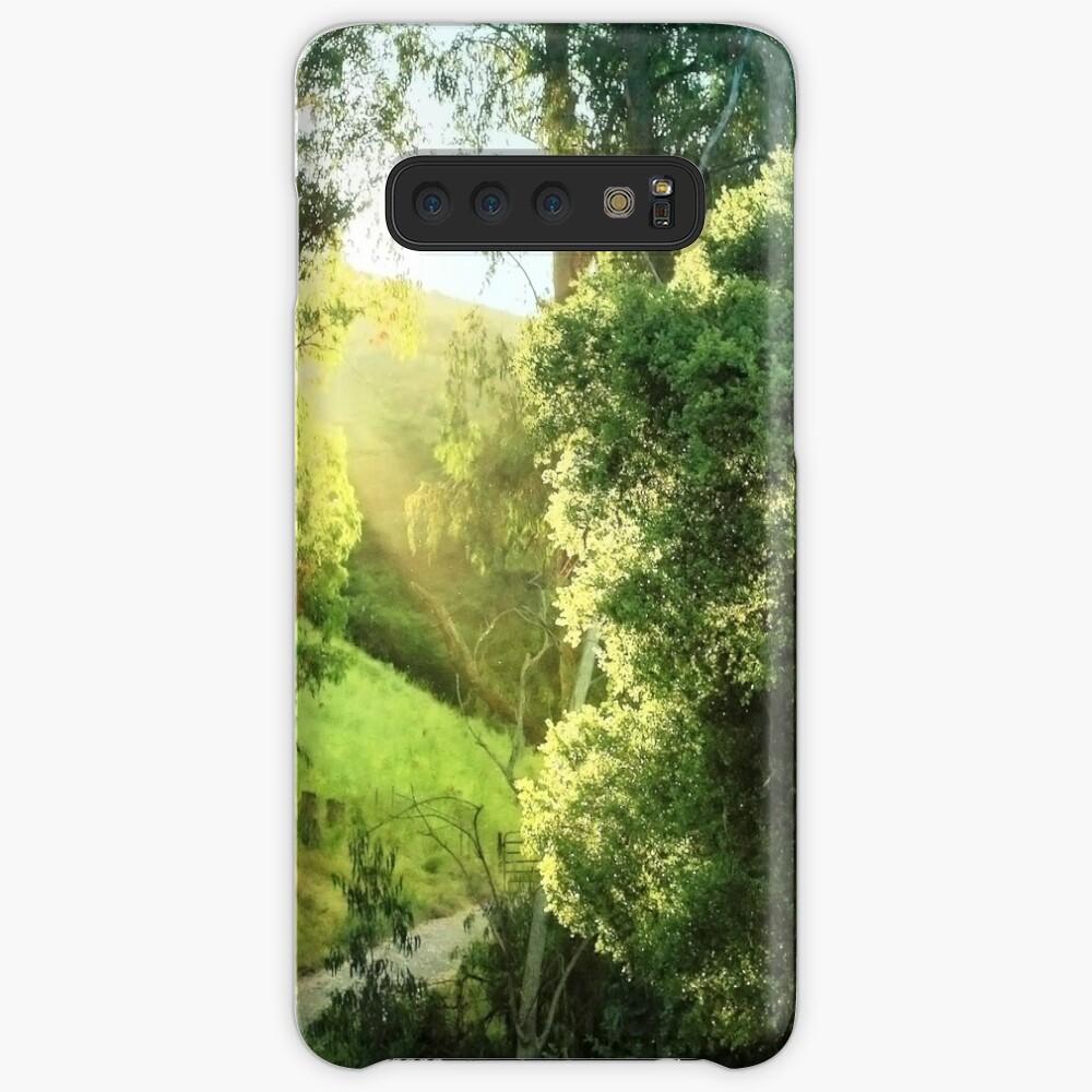 Sunrise on the trail Case & Skin for Samsung Galaxy