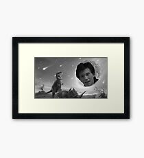 """""""Chaos is what killed the dinosaurs."""" Framed Print"""