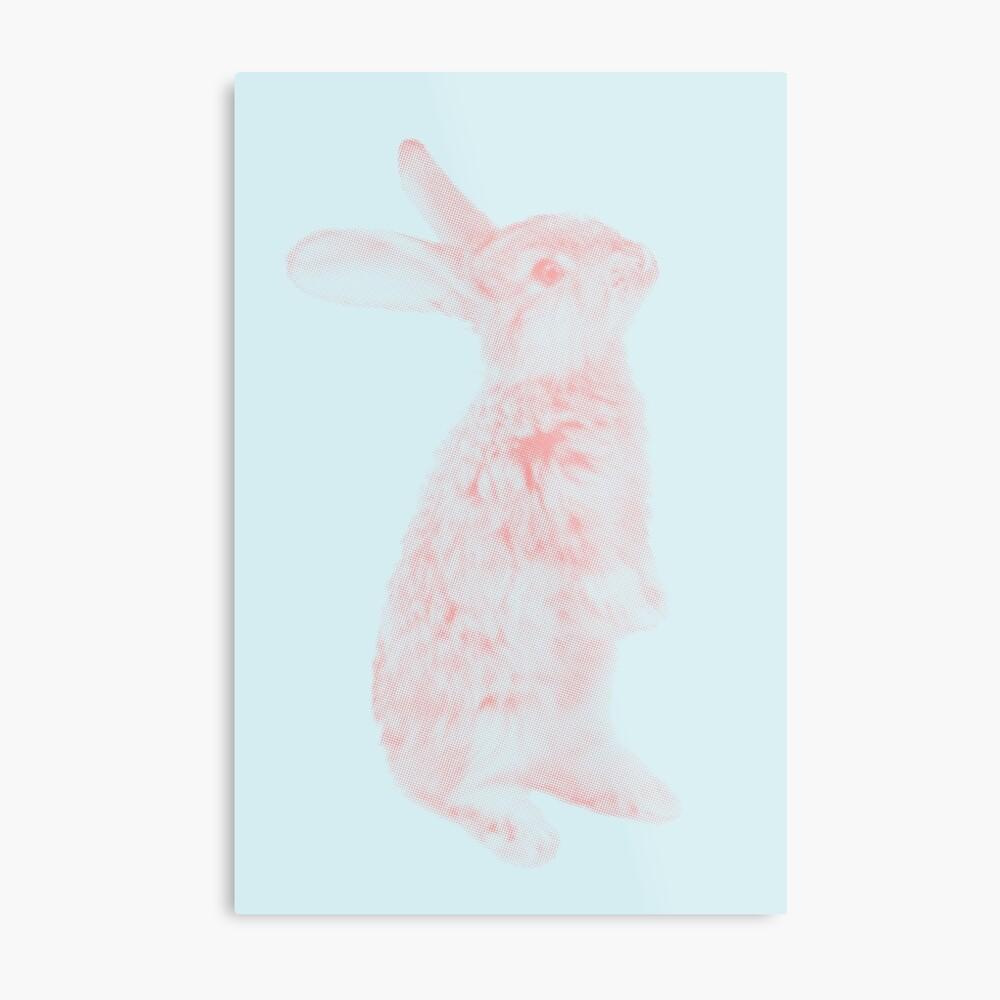 Rabbit 07 Metalldruck