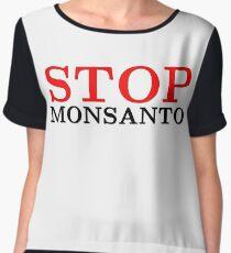 Inspirational Anti-System Monsanto Motivational Street Message Revolution Riot T-Shirts Women's Chiffon Top