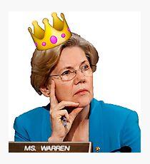 Elizabeth Warren  Photographic Print