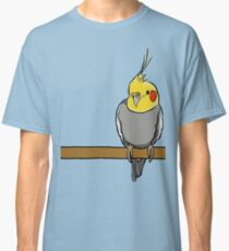 Cute cockatiel for bird lovers Classic T-Shirt