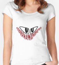 Jerome 'The Joker' Gotham Logo Women's Fitted Scoop T-Shirt