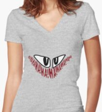 Jerome 'The Joker' Gotham Logo Women's Fitted V-Neck T-Shirt