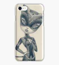 Kitty Cat Girl iPhone Case/Skin