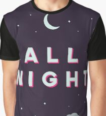 All Night Graphic T-Shirt