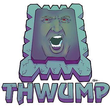 The Trump Thwomp: THWUMP by KEITHBYRNEFX