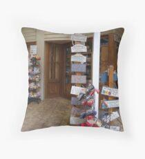 Shop Front Throw Pillow