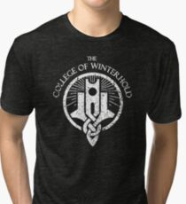 Skyrim - College of Winterhold Tri-blend T-Shirt