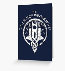 Skyrim - College of Winterhold Greeting Card