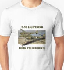 P-38 Forked Tail Devil T-Shirt
