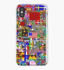 Reddit r/Place 10K resolution Official r/TheFinalClean Cleaned Version iPhone Case/Skin