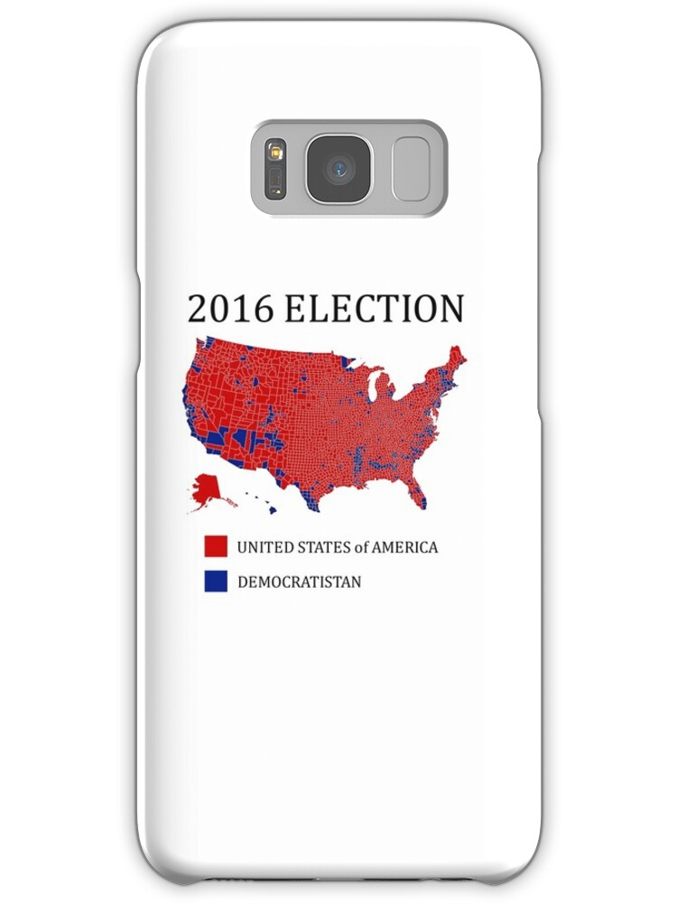 2016 Election Results Map By County Samsung Galaxy Cases Skins