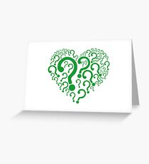 The Riddler Greeting Card