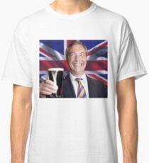 Nigel Farage Leader of UK Classic T-Shirt