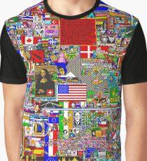 /r/Place 8K resolution Original Print - Final Version Graphic T-Shirt