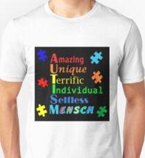 AUTISM Embrace Art Awareness Unisex T-Shirt