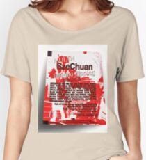1988 Mcdonalds SzeChuan Mulan Promotion McNugget Sauce tshirt (Rick And Morty) Women's Relaxed Fit T-Shirt