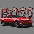 Boss Mustang by tanyarose