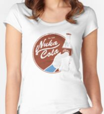 Fallout - Ice Cold Nuka Cola Women's Fitted Scoop T-Shirt